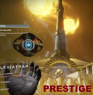 Destiny 2 PRESTIGE RAID Spire of Stars + Chests (Recovery, PC or PS4only)