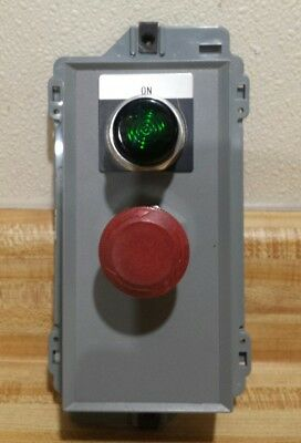Allen Bradley Centerline Illuminated Start Stop Station 2100