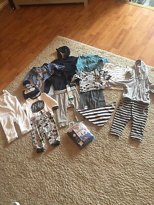 Baby Boys Bundle 6-9 Months H&m Tesco Ted Baker 28 Items
