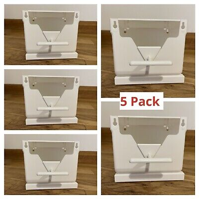 5 x Plastic Finch Nest Box With Hooks Front & Back For Exotic Finches, Birds