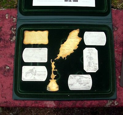 isle of man TT     Limited Edition Commemorative Medals