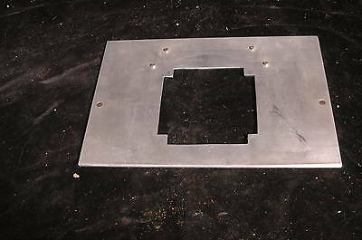 "Durst Laborator Enlarger 138  5X7""  Negative Carrier Base Plate"