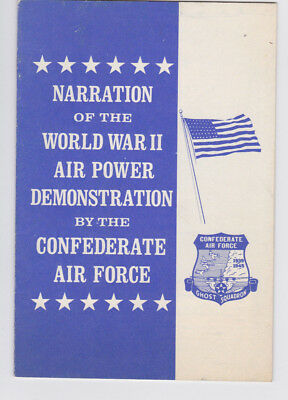 CONFEDERATE AIR FORCE LOT- CAF AFA Military pamphlets