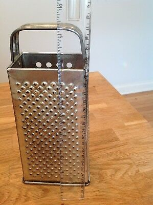 Vintage Bromco Cheese Grater- 4 Sided - Hand Held