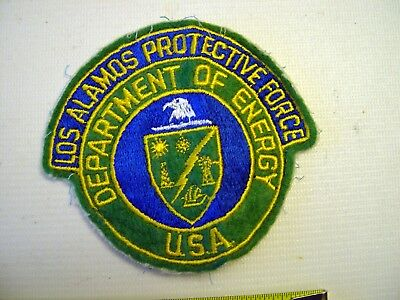 ORIGINAL Los Alamos, NM Police Dept Department of Energy Protective Force Patch