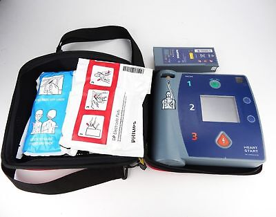 PHILIPS HEARTSTART FR2+ AED w/ BATTERY PADS ADULT MEDICAL
