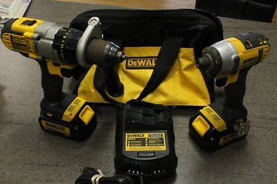 DEWALT 20-Volt MAX Li-Ion 3.0 Ah Hammer Drill and Impact Driver Combo Kit