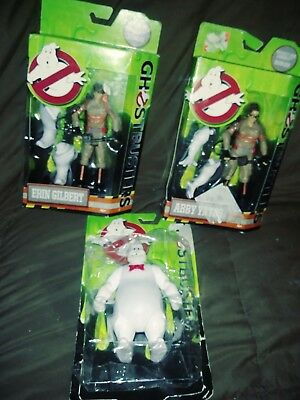 Ghostbusters Lot Of 3 New In Package Action From Movie Erin Abby Rowan