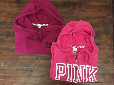 Lot Of 2 Victoria's Secret Pink Sweatshirts Size Small