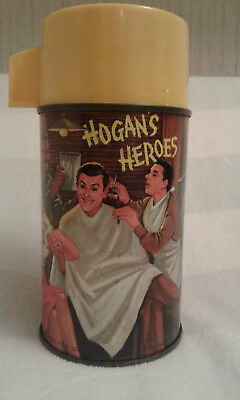 VINTAGE 1966 METAL DOME HOGANS HEROES LUNCHBOX Thermos. Aladdin