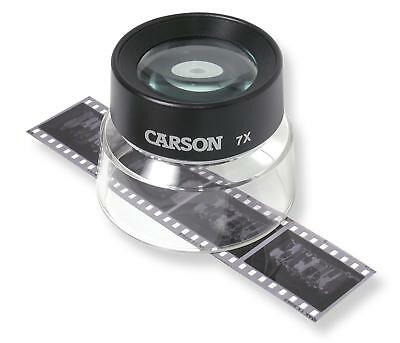 Carson LumiLoupe 7X Power Stand Magnifier With Dual Lens (LL-77)