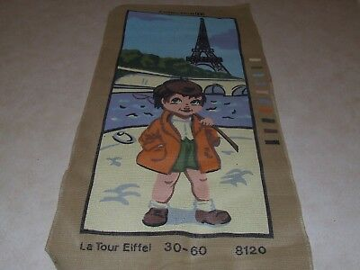 Tapestry Canvas - Tour of the Eiffel Tower - New