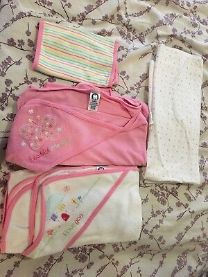 Baby Towels, Blanket And Wash Cloth