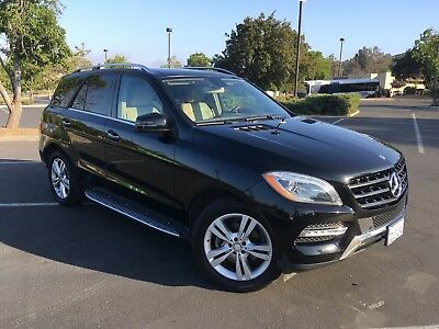 2014 Mercedes-Benz M-Class Sports package IMMACULATE Mercedes Benz ML 350 - blk exterior - tan interior - sports package