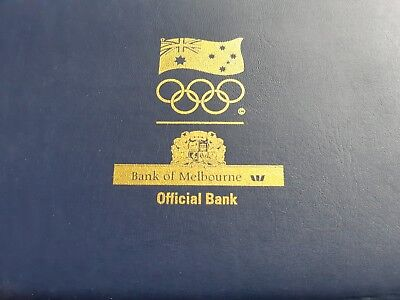 Sydney Olympic Pins Bank Of Melbourne Limited Issue Boxed set 053/2500