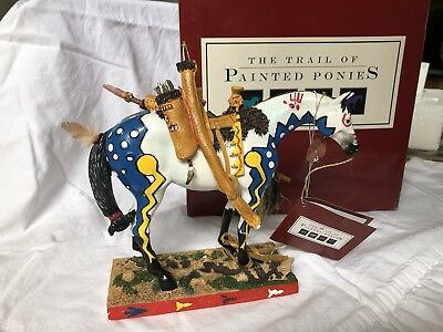 The Trail of Painted Ponies #12220 Woodland Hunter 1E/1,370 246/250 SIGNED