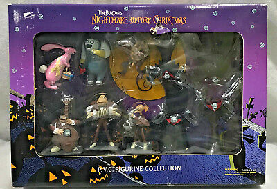 Tim Burton's Nightmare before Christmas P.V.C Collectible Figurine Collection