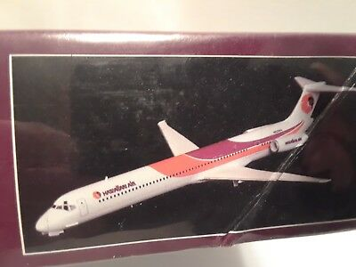 "Rare 1:144 ""hawaiian Airlines"" Md-80 Passenger Jet, Minicraft # 14510, Sealed,"