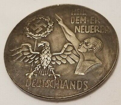 German Karl Goetz 1940 medallion medal coin