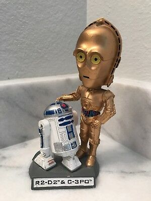 Star Wars R2-D2 C3PO COLLECTOR'S EDITION BOBBLEHEAD LIMITED EDITION 0/4000