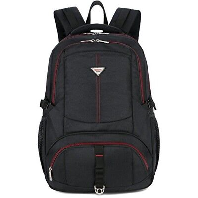 17 inch Laptop Backpack,SOCKO Large Durable Water Resistant Business Travel Back