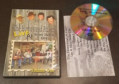 The Homestead Pickers: Live At Silver Dollar City - Volume 1 (DVD) music concert