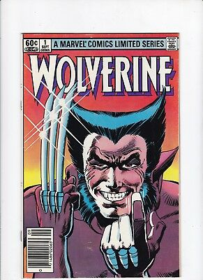 Wolverine 1 1982 Limited Series 1st Appearance of Yukio FN/VF Book Lot of  1