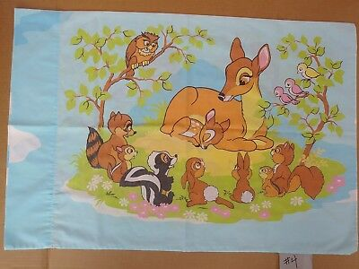Vintage Walt Disney Productions Bambi Pillowcase-Classic Movie Collectible (#4)