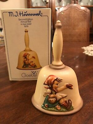 goebel Hummel collectors bell 1979 second edition brand new in box