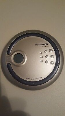 Panasonic Portable CD Player  SL-SX320- Tested - Used blue great condition