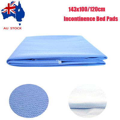 143x100/120cm Large Underpads Heavy Duty Ultra Soft Washable Underpads for Baby