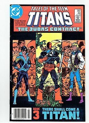 Tales of the Teen Titans #44 Nightwing Rare Canadian Price Newsstand Variant