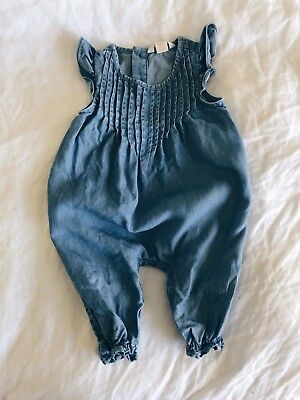 country road Baby Girl Romper 0-3 Months