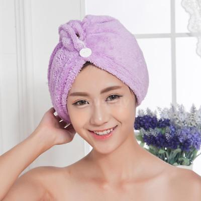 Hair-Drying Cap Strong Water Absorption Triangular Towel K2F1