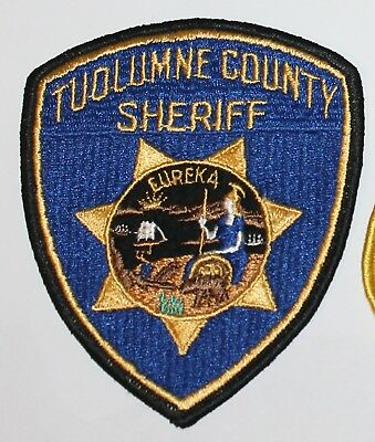 Old TUOLUMNE COUNTY SHERIFF California CA Co SD SO Vintage patch