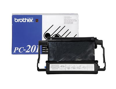 New Genuine - Brother Pc-201 Black Print Cartridge - Fax-1270, Mfc-1780