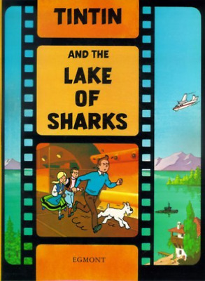Herge-Tintin And The Lake Of Sharks  BOOK NEW