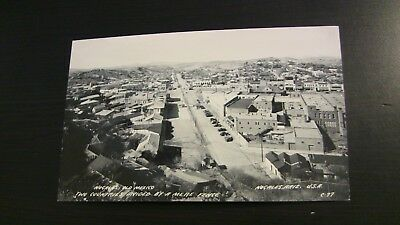 Photo Postcard--Nogales USA Mexico Border Town View Separated by Mere Fence PC