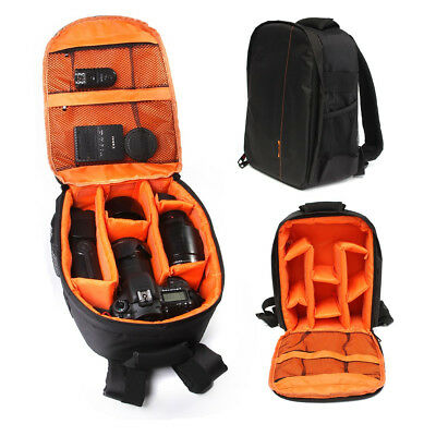 DSLR Camera Backpack Shoulder Bag Compact Photograph Waterproof Nikon Canon Sony