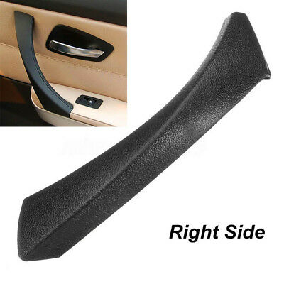 Right Inner Door Panel Handle Outer Cover Trim For BMW 3Series E90 E91 Black