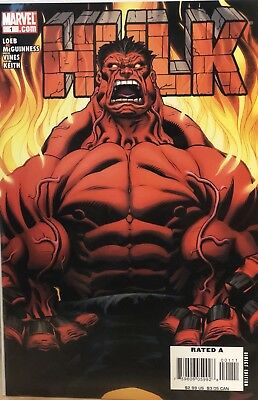Hulk #1 (2008) McGuinness Cover - First app. Red Hulk (+ Issues 2-3)
