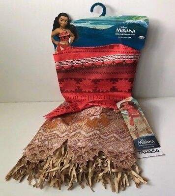 c6b1a5c30 New Disney Moana Adventure Outfit Girls Dress Up Costume Size 4-6X NEW WITH  TAGS