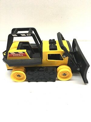 Vintage  TONKA TRENCHER Bulldozer  Back-Hoe  Tractor FOR PARTS ONLY