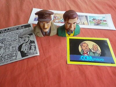 Blake Et Mortimer  Collector 1991 / Bustes Figurines  Stickers Timbres