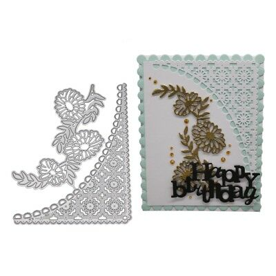 Lace Metal Cutting Dies Stencil DIY Scrapbooking Embossing Paper Card Making