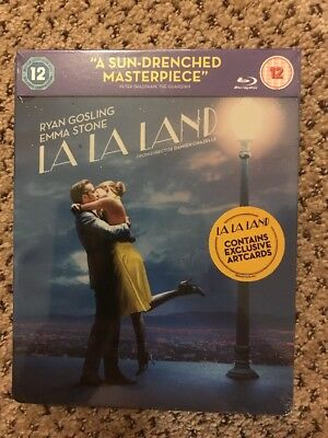 La La Land (Blu-ray Disc, 2017, UK Version SteelBook) REGION B