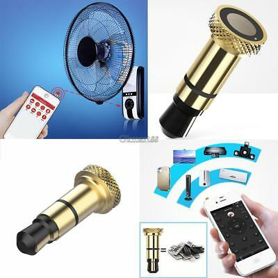 Wireless Mini Infrared Remote Control Dust Plug Receiver For Smart Phone OK 02