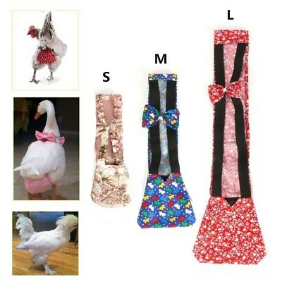 3 sizes Pet Goose Chicken Duck Adjustable Poultry Nappy Cloth Diaper