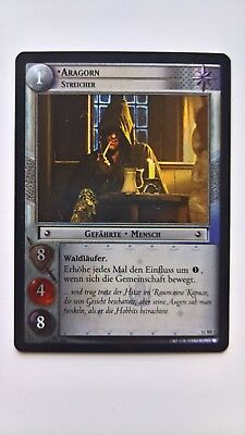 Lord of the Rings TCG - Aragorn Streicher Rare Foil (11RF7)