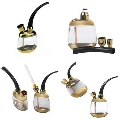 Stillcool Huka-Pfeife Mini Portable Water Tobacco Hookah Komplettset Retro Form